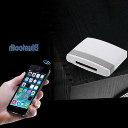 Wireless Bluetooth Music Receiver Adapter to 30-Pin Speaker