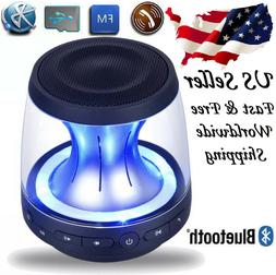 Wireless Bluetooth Speaker Mini Portable Super Bass Luminous