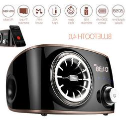 SENBOWE Wireless Bluetooth Speaker Stereo Touch Control TF A