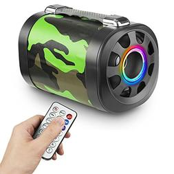 Wireless Bluetooth Speaker – Unique Camouflage Design –