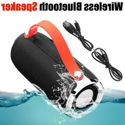 wireless bluetooth speaker waterproof outdoor stereo bass