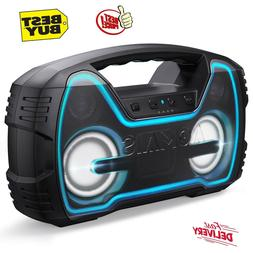 wireless bluetooth speakers hd stereo sound deep
