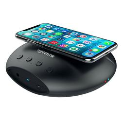 Wireless Charger with Bluetooth speaker Portable Charging Do