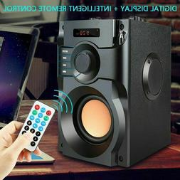 Wireless Outdoor Speaker Large Bluetooth Loud With Bass Subw
