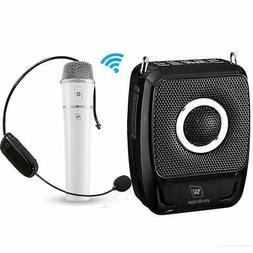Wireless Portable Pa Speaker System with Mic - 25W Microphon