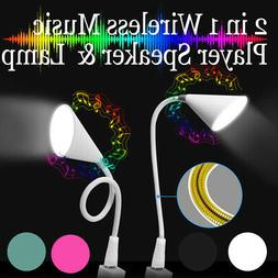 Wireless Speaker USB Charge Music Table Lamp for Laptop Note